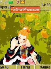 Apple Lady theme screenshot
