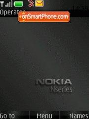 Nokia Only Black ic theme screenshot