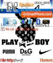 Скриншот темы Pb