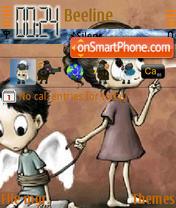 Capture d'écran Emo Feel thème