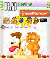 Garfield And Odie Animated es el tema de pantalla