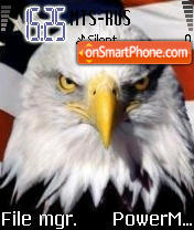 Usa Eagle es el tema de pantalla
