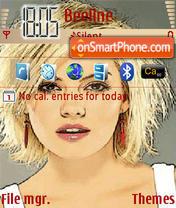 Elisha Cuthbert 08 theme screenshot