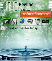 Drop In Nature theme screenshot