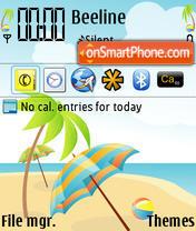 Beach 24 theme screenshot