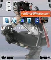 Neji Hyuga theme screenshot