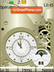 Gold Clock es el tema de pantalla
