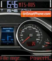Audi Speedo theme screenshot