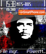 Ernesto Che Guevara theme screenshot