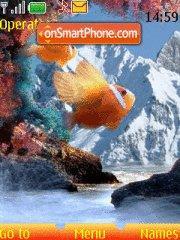 Скриншот темы Fish