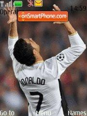 Cristiano Ronaldo 8 theme screenshot