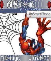 Скриншот темы SpiderMan