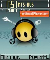 Smiley Sound theme screenshot