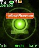 Green Lantern tema screenshot