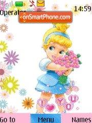 Baby Cinderella theme screenshot