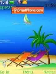 Dream Vacation theme screenshot
