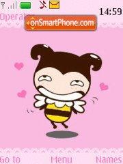 Funny Bee theme screenshot
