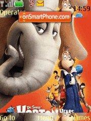 Colorful Horton es el tema de pantalla