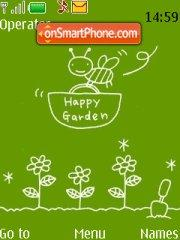Happy Garden theme screenshot