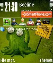 Fi theme screenshot