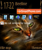 Cat 11 theme screenshot