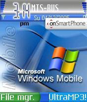 Скриншот темы Windows Mobile