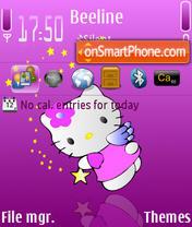 Pink Kitty theme screenshot