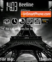 Eiffel Tower 02 theme screenshot