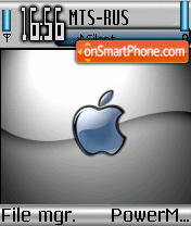 Applecomp theme screenshot