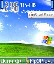 Windows Mobile XP theme screenshot