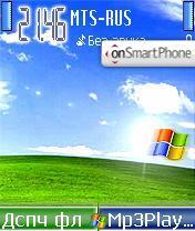 Скриншот темы Windows Mobile XP