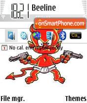 Little Devil 01 theme screenshot
