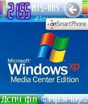 Скриншот темы XP MCE