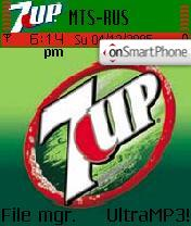 7UP theme screenshot