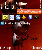 Free theme screenshot