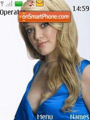 Hilary Duff theme screenshot