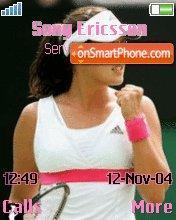 Ana Ivanovic es el tema de pantalla