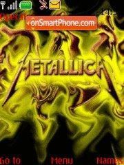 Metallica theme screenshot