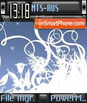Artblue theme screenshot