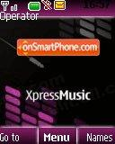 Xpress Music 2 theme screenshot