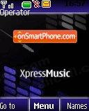 Xpress Music 3 theme screenshot