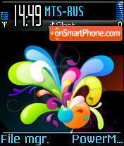 Colorsplash theme screenshot