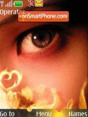 Eyes art es el tema de pantalla