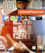 50 Cent 15 theme screenshot