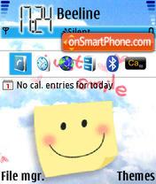 Smile Animated theme screenshot
