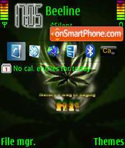 Weed 08 theme screenshot