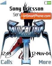 Soul Calibur 3 es el tema de pantalla
