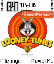 Loones Tunes theme screenshot