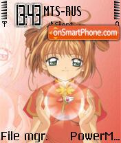 Sakura 02 es el tema de pantalla