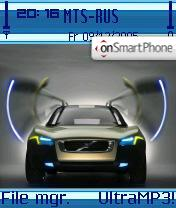 Volvo theme screenshot